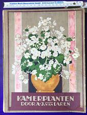 Sammelbilderalbum komplett, Verkade Fabrieken Zaandam, KAMERPLANTEN 1928