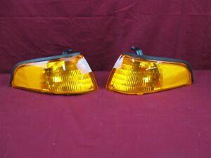 NOS OEM Ford Escort Side Marker Lamp Light 1993 - 1996 PAIR