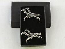 Talons Claws Raptor Bird of Prey Fine English Pewter Cufflinks Gift Mens Boxed