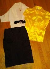 """Womens Shirts/Sweaters/Skirts. sz m & L Outfit """"Benefits Charity"""" 1X1511"""