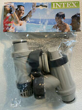 NEW INTEX # 25010 Above Ground Plunge In Out Valve Pool Part # 10747 X 2 Pack