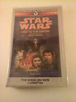 Heir to the Empire 1 by Timothy Zahn 1991 Audio Cassette RARE Cracker Barrel Ver