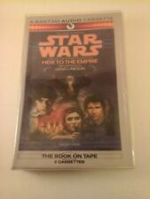 Heir to the Empire 1 by Timothy Zahn 1991 Audio Cassette RARE Cracker Barrel Ver