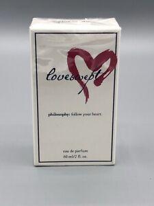 Loveswept by Philosophy Eau De Parfum For Women's 2.0 fl oz 60 ml AUTHENTIC! NEW