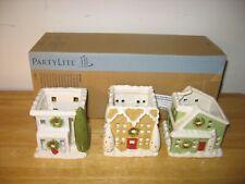 Partylite Village Square Tealight Trio P91243