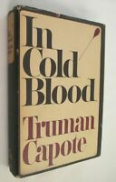 In Cold Blood Capote First Edition 1st Printing Hardcover Jacket 1/66 American