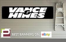 Vance and Hines Banner for Workshop, Garage, Office, Pit Lane