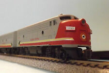 N-Scale Custom Painted ALGOMA CENTRAL  F-UNITS A-1753  /B-AC1763