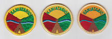 SCOUTS OF CANADA -  CANADIAN SCOUT QUEBEC KANIATARIO DISTRICT Patch (3 VAR)