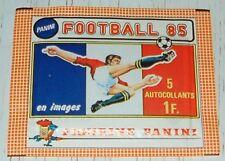 PANINI FOOTBALL 85 POCHETTE NEUVE BUSTINA CHAMPIONNAT FRANCE 1984-1985