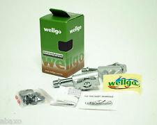 2013 Wellgo MG-8 MG8 Magnesium Road Bike Pedals 118 Grams w/Shimano SPD Cleats