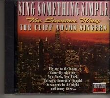 (CR498) Sing Something Simple: The Sinatra Way, Cliff Adams Singers - 1991 CD