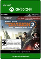 The Division 2 - Warlords of New York Edition (Xbox One) - Digital Download