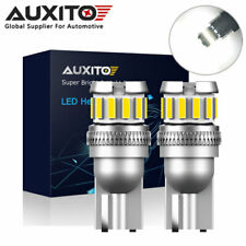 2x AUXITO T10 194 168 W5W LED License Plate Wedge Light Bulb CANBUS Error Free