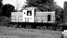 Southern New York Railway (SNY) Engine #300 Black & White Print