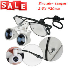 Sale Dental Surgical Medical Binocular Loupes 25x 420mm Optical Glass Loupe