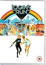 LOGANS RUN (1976) DVD REGION 4  CLASSIC SCI-FI  MICHAEL YORK  FARRAH FAWCETT