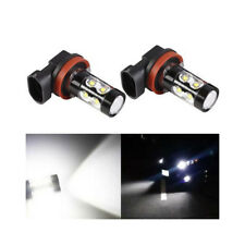 2 pcs H11 H8 Extreme Bright 50W CREE 6000K White LED Fog Driving Lights Bulb