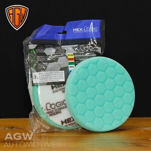 "Chemical Guys 5.5"" Hex-Logic Green Heavy Machine Polishing Pad - Genuine UK"
