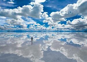 2000 piece puzzle Uyuni salt lake - Bolivia world's smallest super s NEW