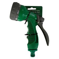 Kingfisher 7 Quadrante in metallo resistente Pistola a spruzzo irrigazione giardino manico con serratura