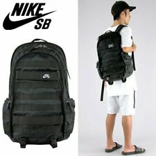 SOLD OUT 😊🔥 Nike SB RPM Military Skateboard Backpack Black Solid BA5403-010