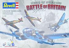 Revell Battle of Britain Gift Set 1:72 Scale  (05711) Plastic Model Kit