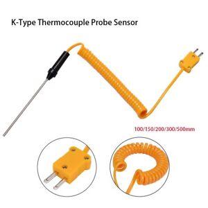 1200C Measuring Tools Temperature Controller K-Type Thermocouple Probe Sensor