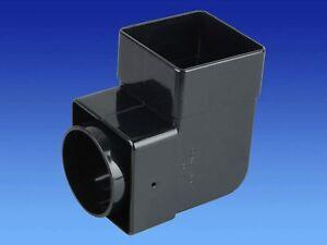 Osma SquareLine 4T862B Pipe Bend 87.5° 61mm Black