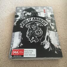 SONS OF ANARCHY DVD. SEASON 1. 4 DISCS