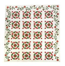 Pieced And Appliqued Quilt. Lot 394
