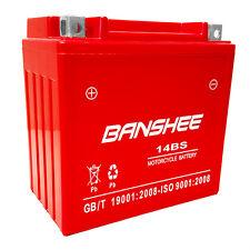 YTX14-BS Battery for Honda VT1100C2 Shadow Sabre 1100 Banshee Motorcycle Battery