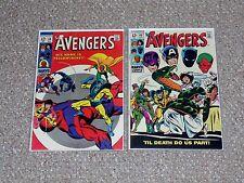 Marvel Comics Avengers # 59 & 60 1st & 2nd Yellowjacket (Ant-Man) VF- 7.5