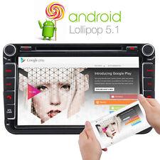 8'' Android 5.1 Car DVD GPS Stereo for VW GOLF MK5 PASSAT tiguan EOS GPS SatNav