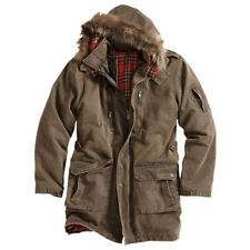 Abrigos y chaquetas de hombre parka marrón