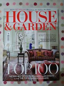 House And Garden Magazine November 2021 Brand New