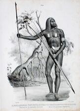 Neuguinea Moeli River Sawi Asmat Pfeil Bogen Kopfjjagd Harpune Speer Jagd Hunter