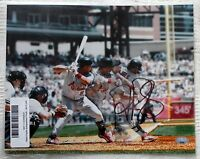 ALBERT PUJOLS FANTASTIC AUTOGRAPHED 8X10 PHOTOGRAPGH WITH COA