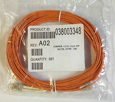 Brand new fibre optic patch cord cable LC(D), 2MM ZIP, 50/125, OFNP MULTIMODE
