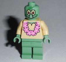 SPONGEBOB #05B Lego Squidward - Pink Lei  NEW  AS SHOWN 3818/3825 Genuine Legos