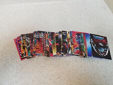 Comic Images Shadowhawk card set, 90 card set, complete, nice shape!