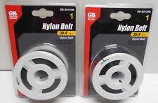 Lot of 2 New  BB-B01UVB GARDNER BENDER NYLON BELTS