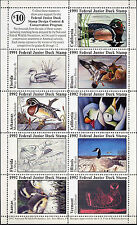 JUNIOR DUCK STAMP 1991-1992 SHEET OF 9 VF NH NEW SUPER LOW PRICE 1ST JUNIOR DUCK