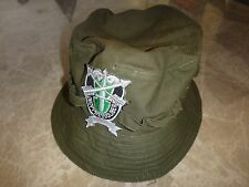 US Special Forces DE-OPPRESSO LIBER Green OD Boonie Hat