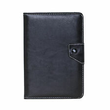 PU Leather Keyboard Folio Case Cover Skin Stand for 7 inch Tablet PC Black New