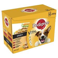 Pedigree Pouch Mixed Varieties in Gravy 12 Pack 100g