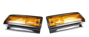 Genuine Toyota  L&R Turn Signal Lamp Lenses GTS Trueno AE86 81741, 81731