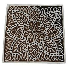 Wooden Printing Blocks Indian Hand Carved Textile Fabric Stamps 143y