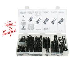 Swordfish 32030 Oxide Finish Steel Compression Spring Assortment Black