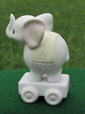 Precious Moments May Your Birthday Be Gigantic Age 4 Bd Train Elephant Vessel